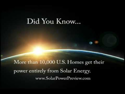 Solar Power Amazing Facts They Don't Want You To Know