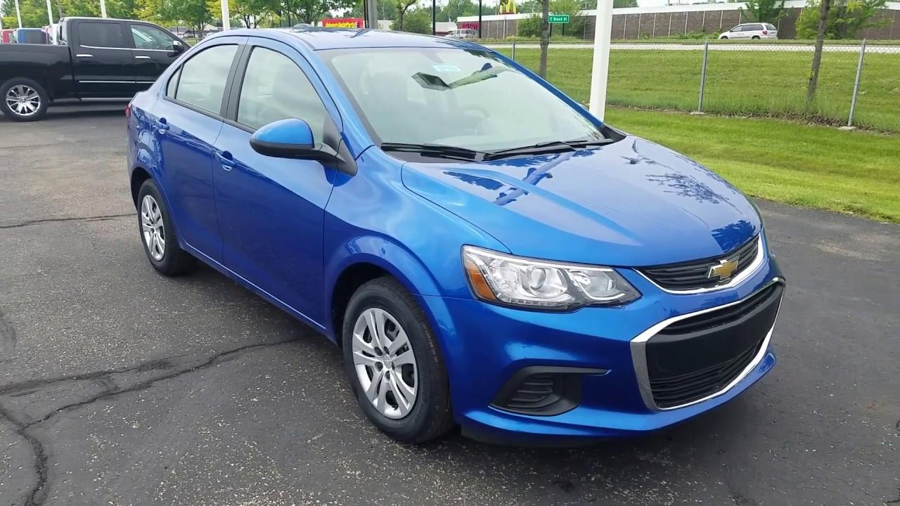 medium resolution of 2017 chevy sonic sedan ls manual full review kinetic blue metallic