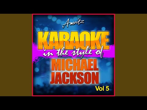 You Can't Win (In the Style of Michael Jackson) (Karaoke Version)