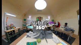 La sartoria dell'integrazione [video360 VR 4K]