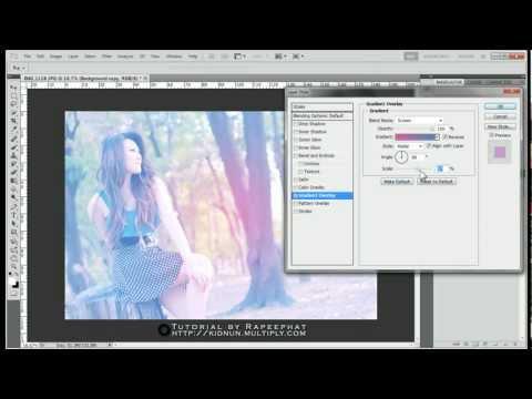 สอน Photoshop : ทำภาพโทนสี Pastel - by Sync