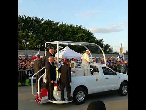 JmjPanamá2019 Papa Francisco