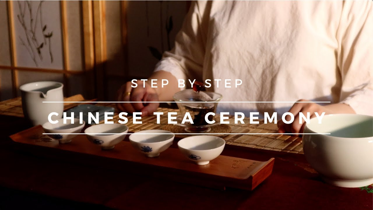 How to do Chinese Tea Ceremony (Gaiwan Brewing Method)