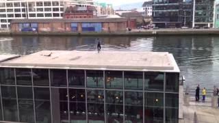 Irish river jumpers!