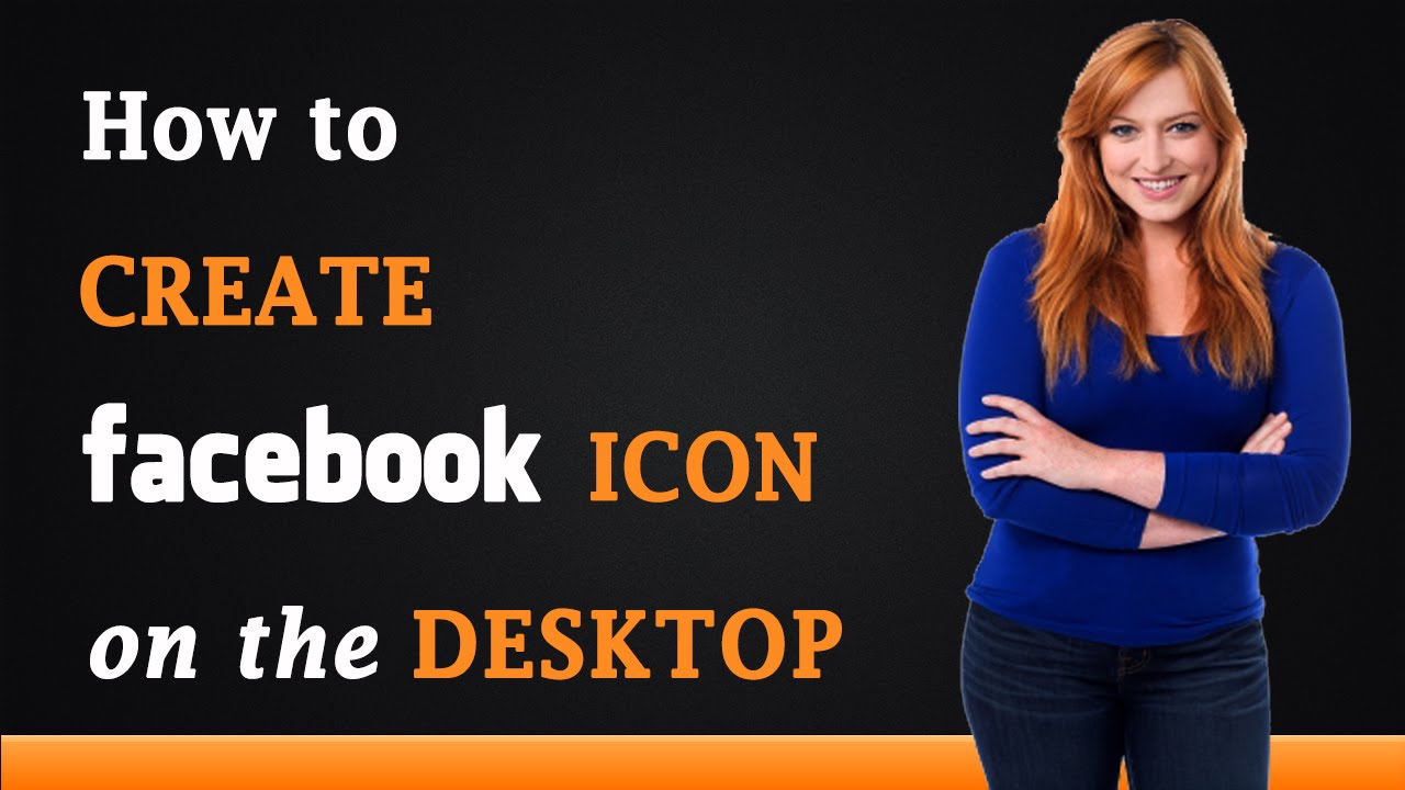 how to create a facebook icon on the desktop youtube