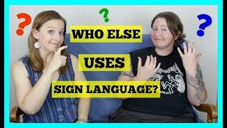 Who Else Uses Sign Language? ⎮ ASL Stew