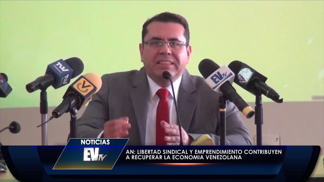 Libertad sindical y emprendimiento contribuyen a recuperar la economía - Noticias EVTV 11/27/19