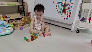 | 육아vlog | 19개월 오르다 3d 자석블럭