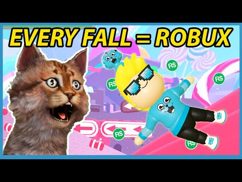 Every Time I Fall = I Have To Buy Robux in Roblox