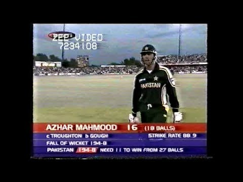 Pakistan amazing chase vs England 1st ODI 2003 (Rare)
