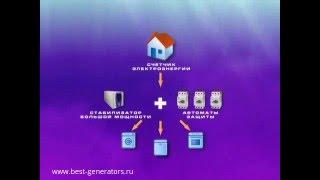 видео Схема подключения стабилизатора напряжения. Подключение стабилизатора
