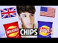 AMERICAN vs. BRITISH: Chips vs. Crisps