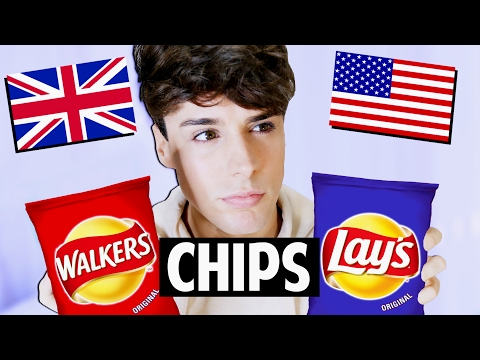 AMERICAN vs. BRITISH: Chips vs. Crisps