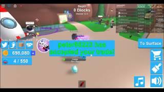 Roblox Mining simulator: OMG! 20000 crates for 60 patriotic Dominus