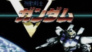 CGR Undertow - MOBILE SUIT VICTORY GUNDAM review for Super Famicom