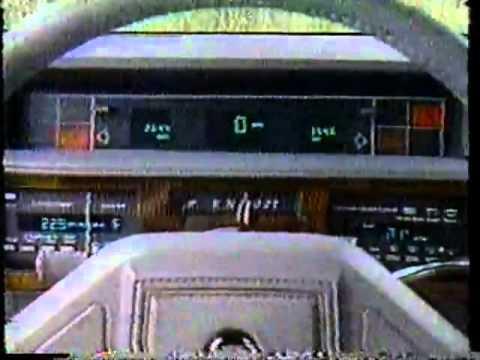MW 1988  Cadillac vs Lincoln    FWD vs RWD Road Test