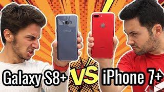 iPhone 7 Plus VS Galaxy S8 Plus : LE GROS CLASH !