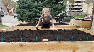 11-Year-Old Plants Food Pantry Garden