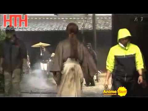 [HD] Bastidores do live-action de Samurai X (Rurouni Kenshin) - TV JAPONESA