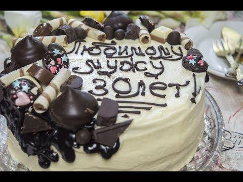 Chocolate Layers Cake With Custard