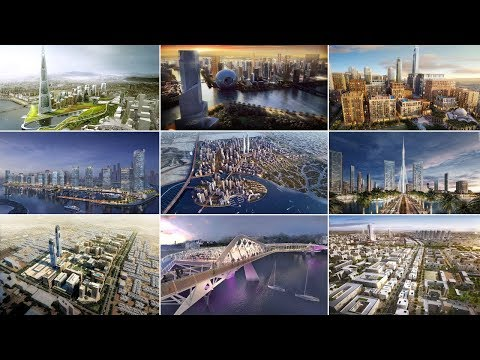 أضخم 10 مشاريع مستقبلية في العراق| منها مدينة النخيل السكنية و مدينة الرشيد ......