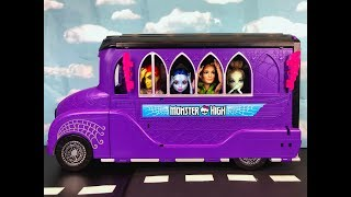 The Field Trip-  A Monster High Ever/After High Stop Motion