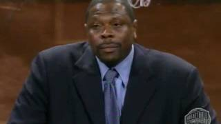 Patrick Ewing's Basketball Hall of Fame Enshrinement Speech