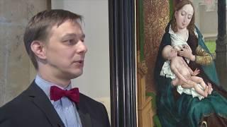 Святой Лука, рисующий Мадонну. После реставрации. Фильм 1