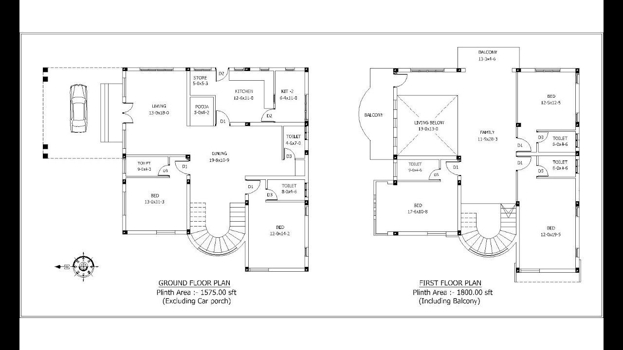 3 Bedroom Floor Plans No Garage