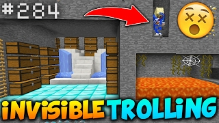 Funniest Invisible TRAP Troll! - Minecraft Factions (SaiCoPvP) #284