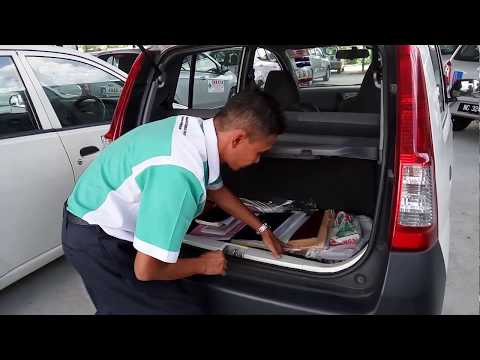 demo ringkas ujian RPK (Rutin Pemeriksaan Kenderaan) JPJ Malaysia - JPJ driving test #2