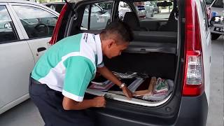 ujian RPK (Rutin Pemeriksaan Kenderaan) JPJ Malaysia - JPJ driving test #2