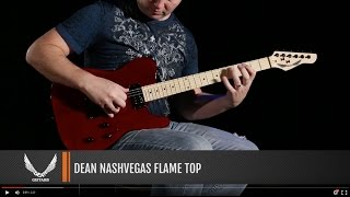 Dean Guitars NashVegas Flame Top