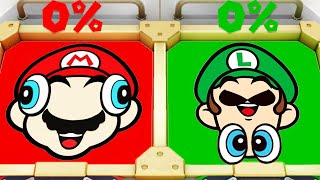 Super Mario Party MiniGames - Mario Vs Luigi Vs Yoshi Vs Dry Bones (Master Cpu)