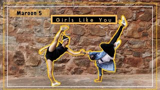 Maroon 5 - Girls like you Dance Cover ft. Cardi B | Dance Choreography | lyrical hiphop |