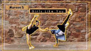 Maroon 5 - Girls like you Dance Cover ft. Cardi B | Dance Choreography | lyrical hiphop |