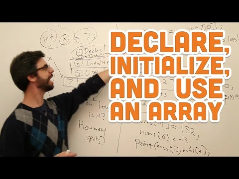 Download Youtube: 9.2: Declare, Initialize, and Use an Array - Processing Tutorial