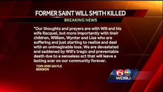 Bensons release statement on death of former Saints player Will Smith