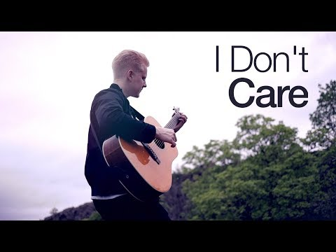 Ed Sheeran & Justin Bieber - I Don't Care | Fingerstyle Guitar Cover