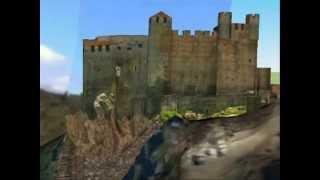 Chapelle Saint-Martin du château de Meyras dit de Ventadour, visite virtuelle