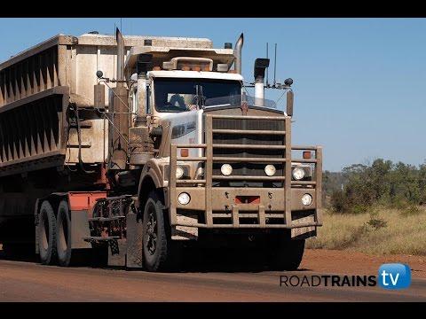 massive 1000 hp kenworth c510 with 5 trailer road train youtube. Black Bedroom Furniture Sets. Home Design Ideas