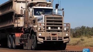 Massive 1000 hp Kenworth C510  with 5 trailer road train
