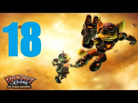 [Part 18] Ratchet and Clank: Up Your Arsenal HD Remake Gameplay Walkthrough/Playthrough/Let's Play