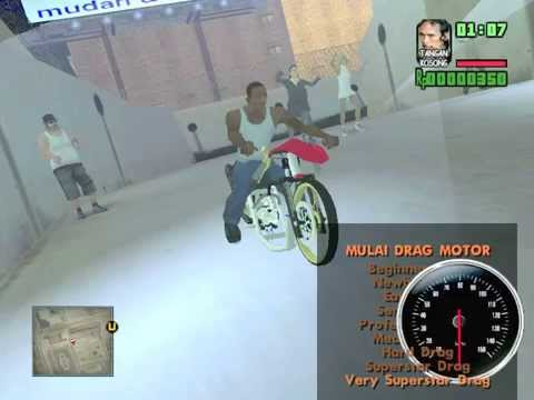 Motor Drag Race Gta Sa 2014 Youtube