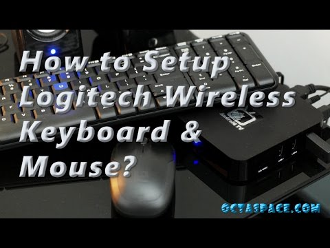 How To Setup Logitech Mk220 Wireless Keyboard Mouse Combo To A