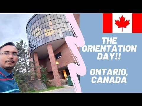 My First Day In Canada  The Orientation Day At Laurentian University   Education   Canada