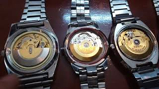 21/4/09. Bán 13 đồng hồ Automatic cổ Thụy sỹ (dây hợp kim) Toàn 0947350055