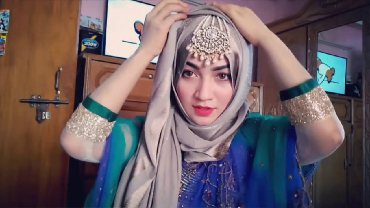 Wedding Bride Hijab Style 2016 Youtube