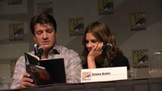 Castle Panel at San Diego Comic Con 2010 part 2