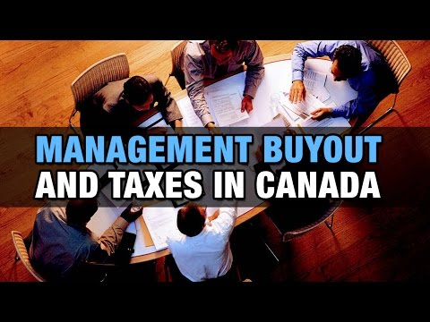 Management Buyout and Taxes in Canada